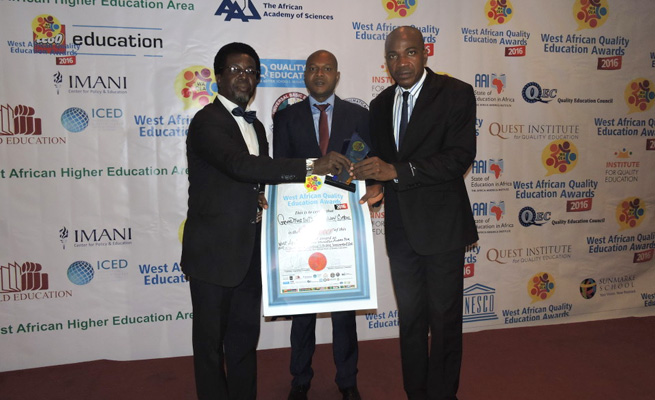 Grundtvig International Secondary School receives award from African Quality Institute