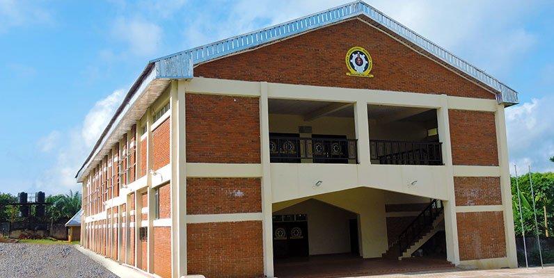 Grundtvig International Secondary School auditorium