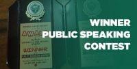 Grundtvigs Unoma Uchechukwu Winner Public Speaking Contest Nigeria Debate Society