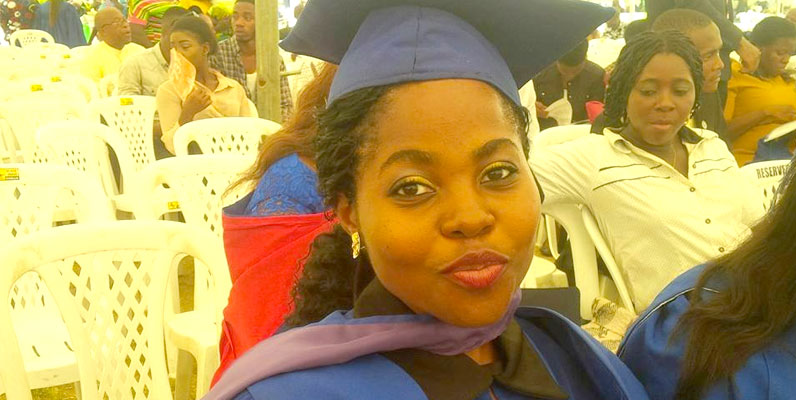 Millicent Ubong First Class Honours degree Theatre and Media Studies University of Calabar