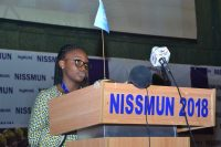 GISS at Nigerian International Secondary Schools Model United Nations 1