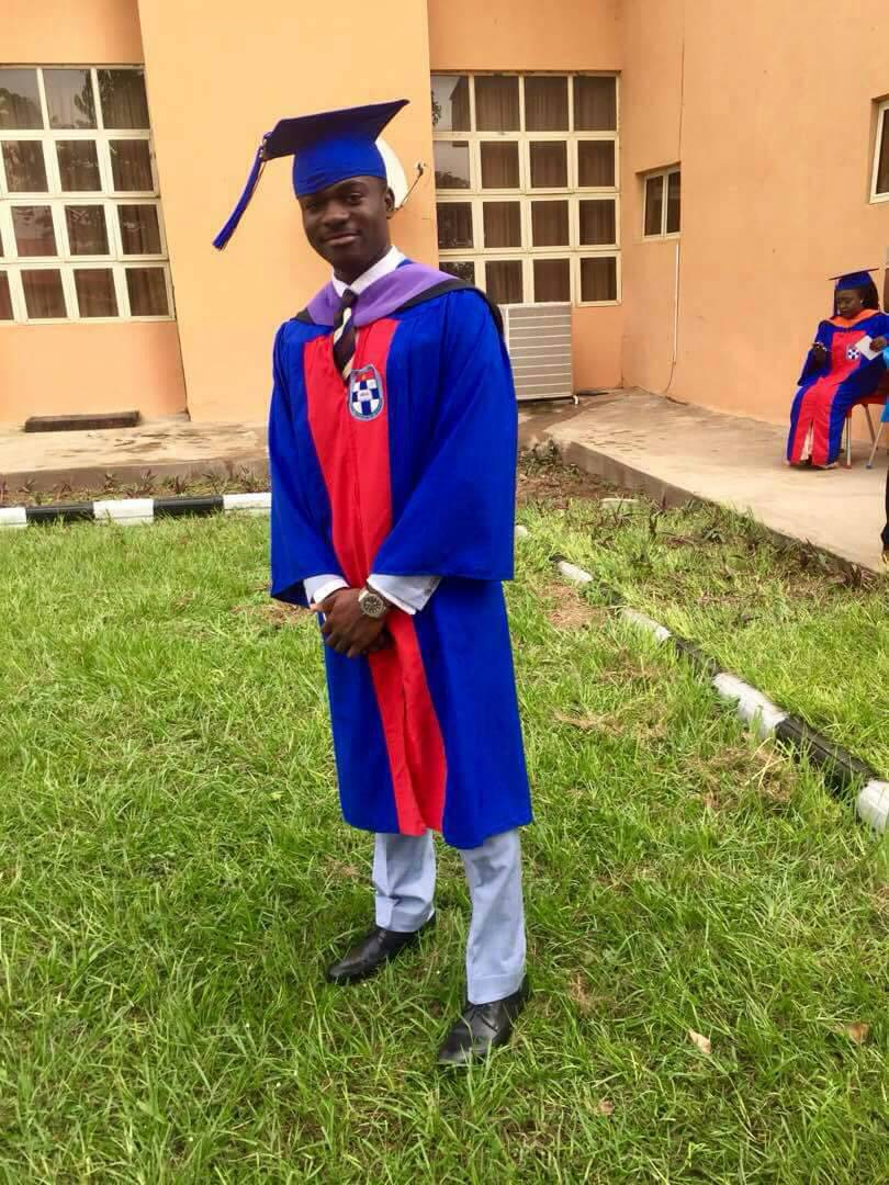 Grundtvig Alumnus Bags 1st Class Honours Degree in Law 2