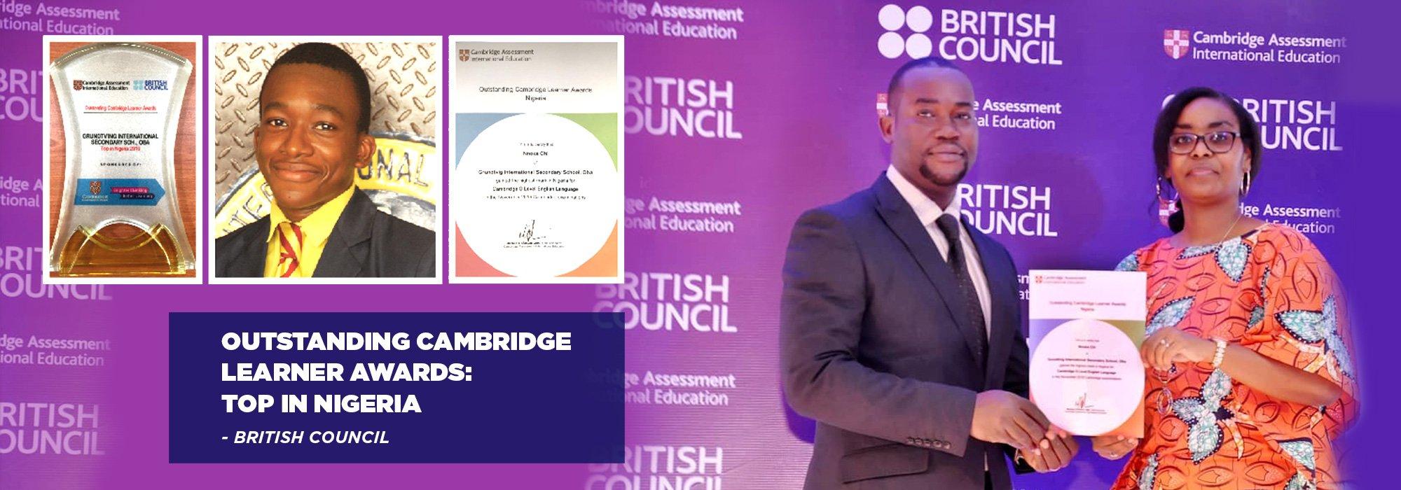 Slider Main Cambridge Award British Council