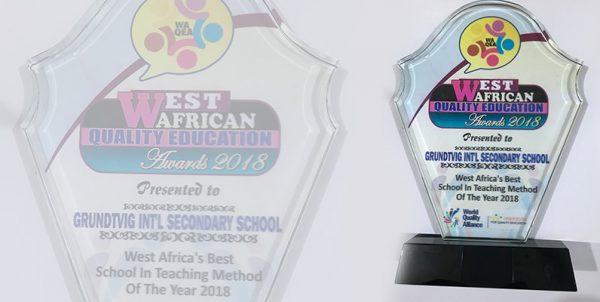 Grundtvig International Secondary School Best School in Teaching Method of the Year 2018