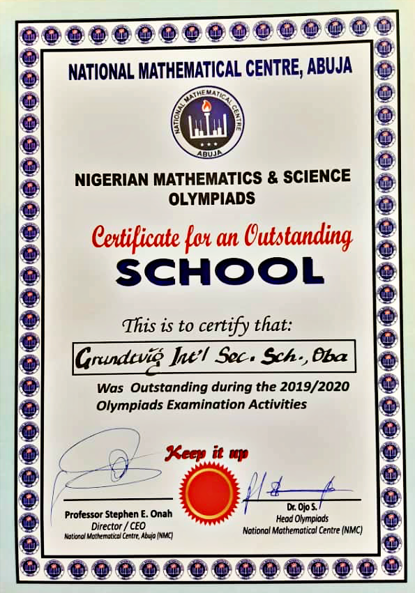Grundtvig Recognition as an outstanding school