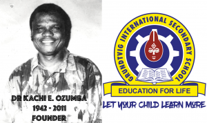 Founder and School Logo